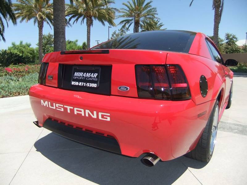 1999 Ford Mustang SVT Cobra 2dr Fastback - San Diego CA