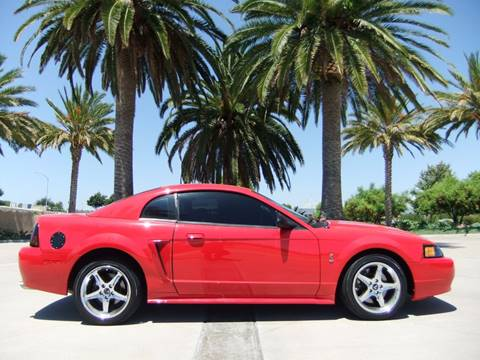 Ford Mustang SVT Cobra For Sale in San Diego CA  Carsforsalecom
