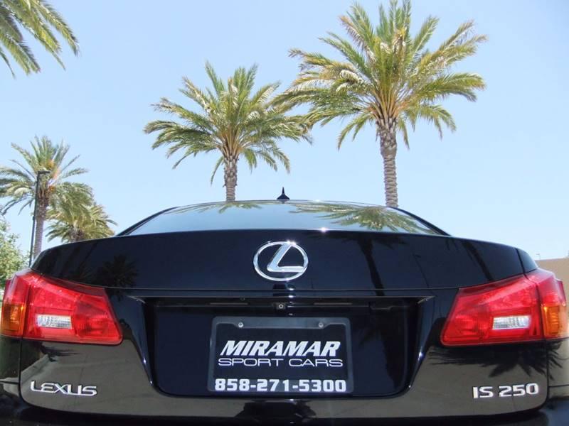 2007 Lexus IS 250 4dr Sedan (2.5L V6 6A) - San Diego CA