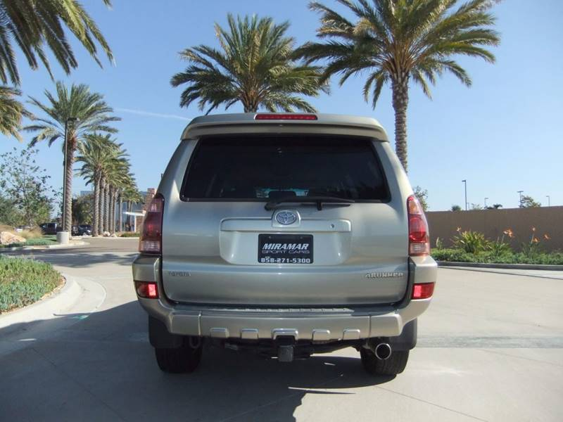 2005 Toyota 4Runner Limited 4WD 4dr SUV - San Diego CA