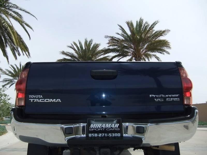 2005 Toyota Tacoma 4dr Access Cab PreRunner V6 Rwd SB - San Diego CA