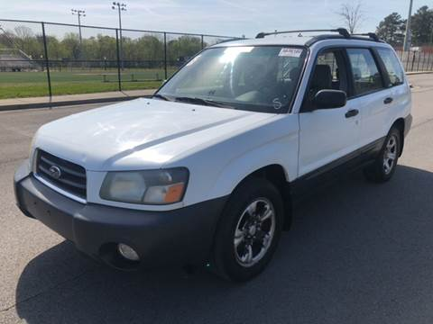 2003 Subaru Forester for sale at Diana Rico LLC in Dalton GA