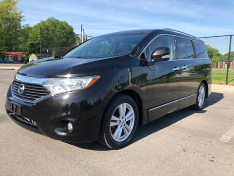 2012 Nissan Quest for sale at Diana Rico LLC in Dalton GA