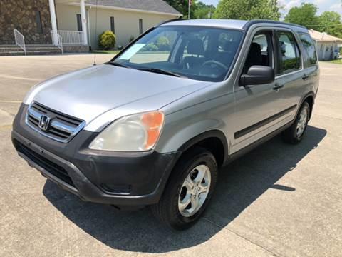 2002 Honda CR-V for sale at Diana Rico LLC in Dalton GA
