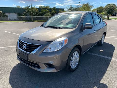 2014 Nissan Versa for sale at Diana Rico LLC in Dalton GA