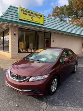2013 Honda Civic for sale in Dalton, GA