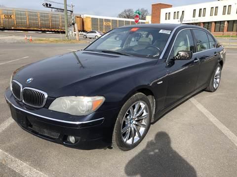2008 BMW 7 Series for sale at Diana Rico LLC in Dalton GA