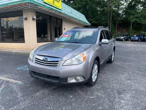 2010 Subaru Outback for sale at Diana Rico LLC in Dalton GA