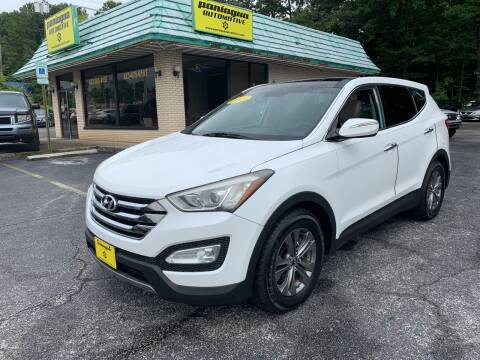 2013 Hyundai Santa Fe Sport for sale at Diana Rico LLC in Dalton GA