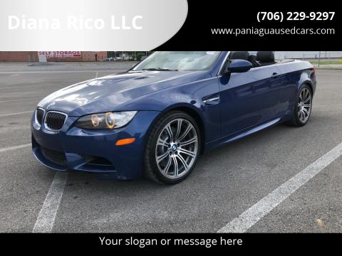 2009 BMW M3 for sale at Diana Rico LLC in Dalton GA