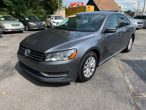 2014 Volkswagen Passat for sale at Diana Rico LLC in Dalton GA