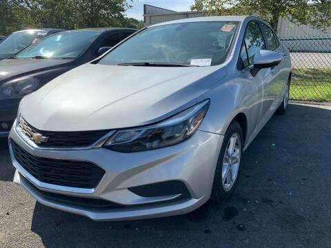 2017 Chevrolet Cruze for sale at Diana Rico LLC in Dalton GA