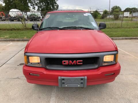 1996 GMC Sonoma for sale at Diana Rico LLC in Dalton GA