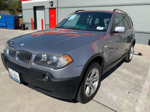 2005 BMW X3 for sale at Diana Rico LLC in Dalton GA