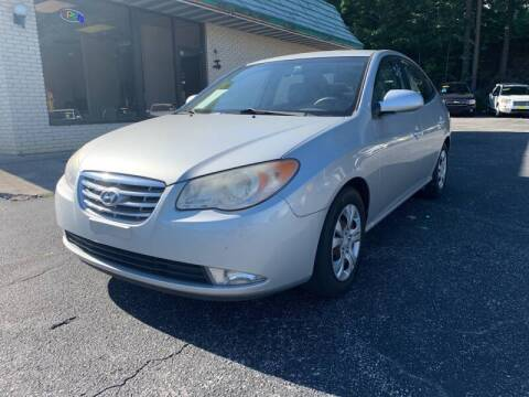 2010 Hyundai Elantra for sale at Diana Rico LLC in Dalton GA