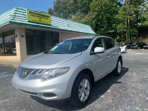 2014 Nissan Murano for sale at Diana Rico LLC in Dalton GA