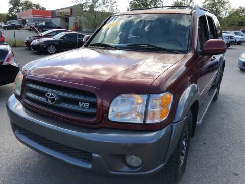 2003 Toyota Sequoia for sale at Diana Rico LLC in Dalton GA