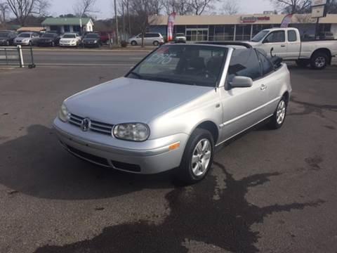 2002 Volkswagen Cabrio for sale in Dalton, GA