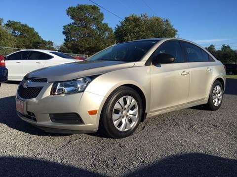 2013 Chevrolet Cruze for sale in Hartsville, SC