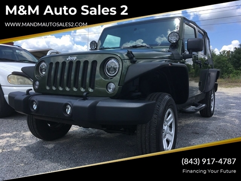 2007 Jeep Wrangler Unlimited for sale in Hartsville, SC