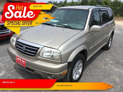 2002 Suzuki XL7 for sale in Hartsville, SC