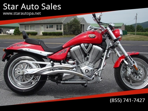 2005 Victory Hammer for sale at Star Auto Sales in Fayetteville PA
