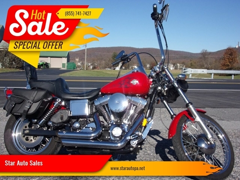 1999 Harley-Davidson DYNA WIDEGLIDE for sale at Star Auto Sales in Fayetteville PA