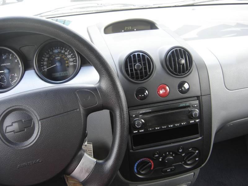 2005 Chevrolet Aveo LT 4dr Sedan In SEVIERVILLE TN  Autoway Auto