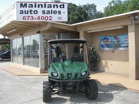 2007 Yamaha RHINO 450 for sale at Mainland Auto Sales Inc in Daytona Beach FL