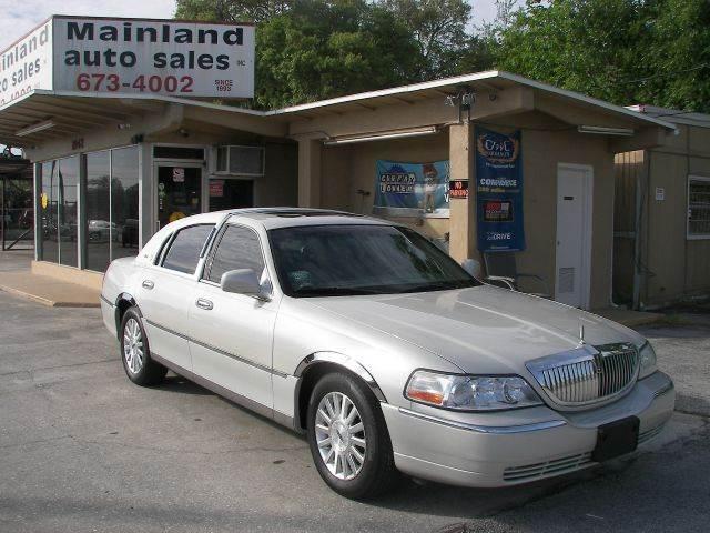 2004 Lincoln Town Car Ultimate 4dr Sedan In Daytona Beach Fl