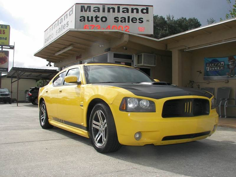 2006 dodge charger rt daytona in daytona beach fl mainland auto sales inc. Black Bedroom Furniture Sets. Home Design Ideas
