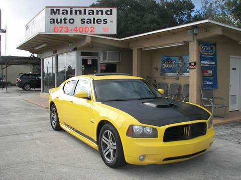 2006 Dodge Charger for sale at Mainland Auto Sales Inc in Daytona Beach FL