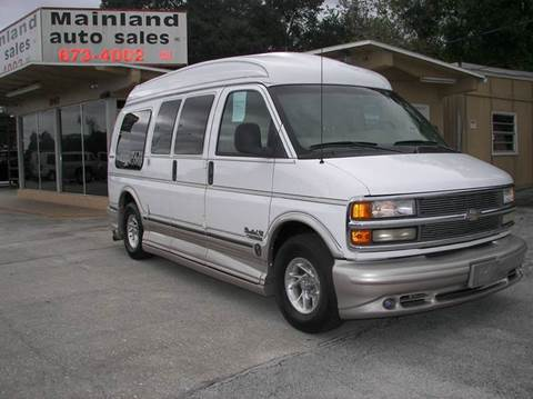 2001 Chevrolet Express Passenger for sale at Mainland Auto Sales Inc in Daytona Beach FL