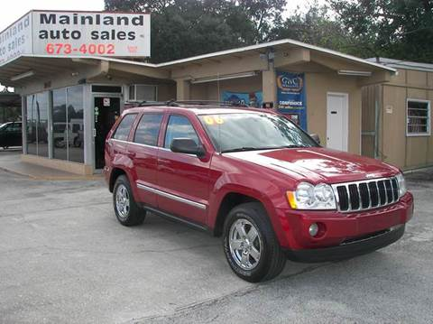 2006 Jeep Grand Cherokee for sale at Mainland Auto Sales Inc in Daytona Beach FL