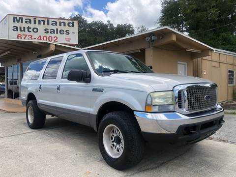 2004 Ford Excursion For Sale In Daytona Beach Fl