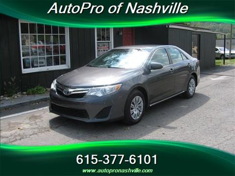 2013 Toyota Camry for sale in Brentwood, TN