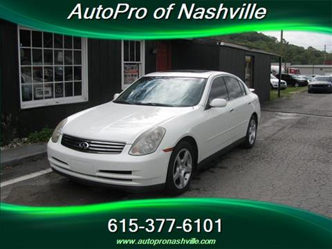 2003 Infiniti G35 for sale in Brentwood, TN