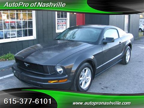 2007 Ford Mustang for sale in Brentwood, TN
