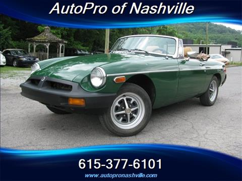 1978 MG MGB for sale in Brentwood, TN