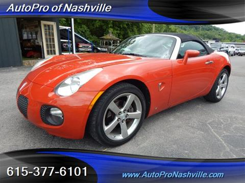 2008 Pontiac Solstice for sale in Brentwood, TN