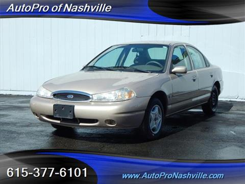 1999 Ford Contour for sale in Brentwood, TN