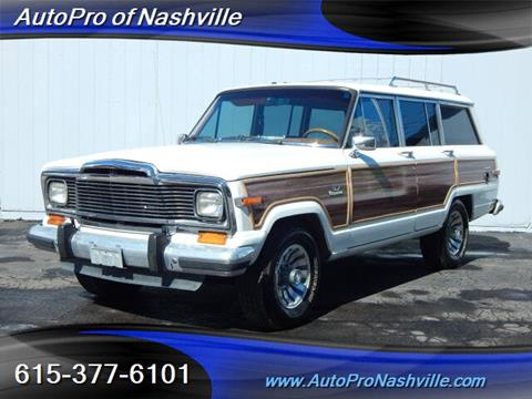 1984 Jeep Grand Wagoneer for sale in Brentwood, TN