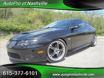 2006 Pontiac GTO for sale in Brentwood, TN