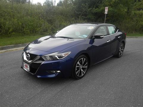 2016 Nissan Maxima for sale in Harrisonburg VA