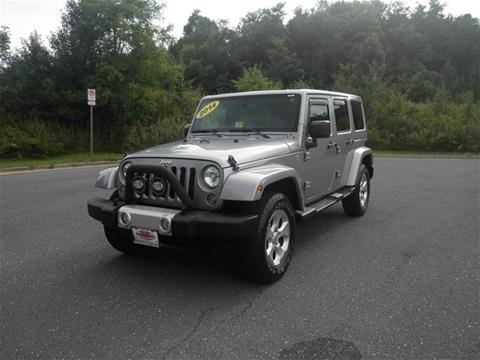 2014 Jeep Wrangler Unlimited for sale in Harrisonburg VA