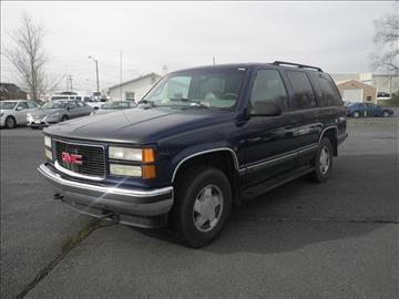 1999 GMC Yukon for sale in Harrisonburg, VA