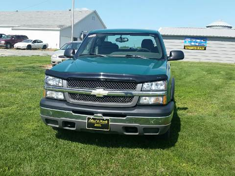 2004 Chevrolet Silverado 1500 for sale in Bancroft, NE