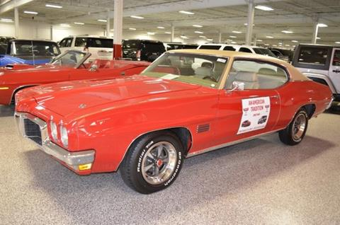 1970 Pontiac Le Mans for sale at P.M. Standley Motorcars in Carrollton TX