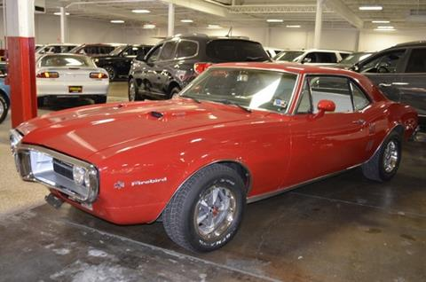 1967 Pontiac Firebird for sale at P.M. Standley Motorcars in Carrollton TX