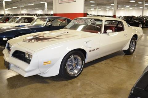 1977 Pontiac Firebird for sale at P.M. Standley Motorcars in Carrollton TX